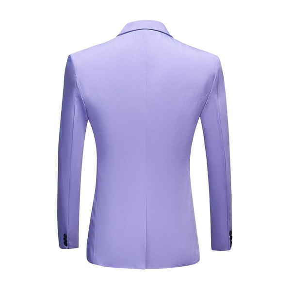 "The ""Cherub"" Slim Fit Blazer Suit Jacket - Lavender William // David"