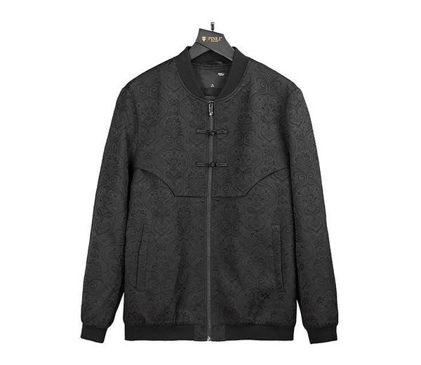 "The ""Tibet"" Jacquard Bomber Jacket William // David"