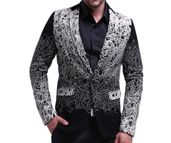 "The ""Fabian"" Slim Fit Blazer Suit Jacket"