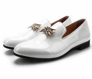"The ""Francois"" Patent Leather Slip-On Loafers - Multiple Colors"