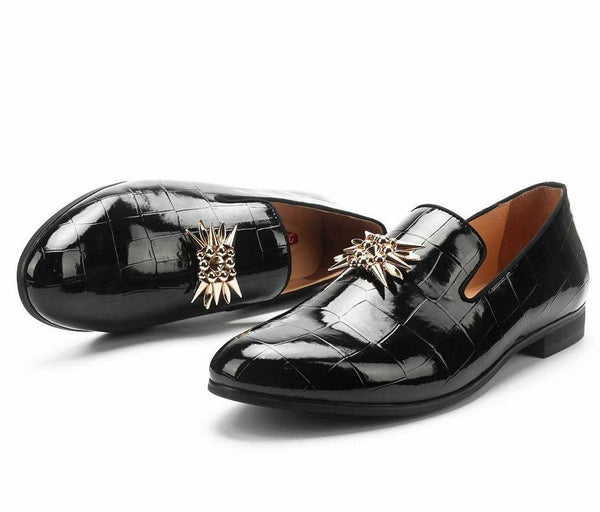"The ""Francois"" Patent Leather Slip-On Loafers - Multiple Colors William // David"