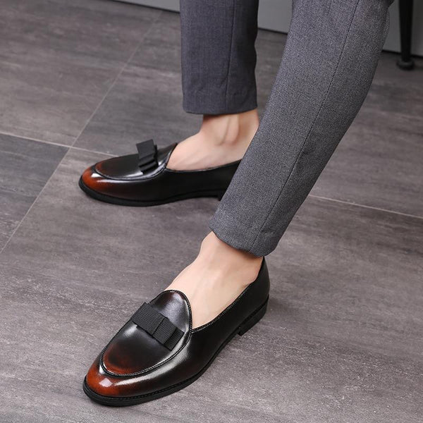 "The ""Angelo"" Leather Penny Loafers - Multiple Colors William // David"