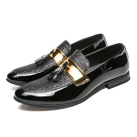 "The ""Louis"" Tassel Loafers Dress Shoes William // David"