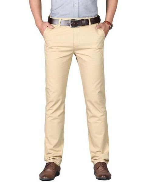 "The ""Lucas"" Modern Fit Suit Pants Trousers - Multiple Colors William // David Yellow 29"