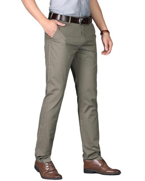 "The ""Lucas"" Modern Fit Suit Pants Trousers - Multiple Colors William // David Grey 29"