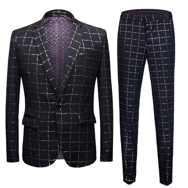 "The ""Winston"" Slim Fit Two-Piece Suit"