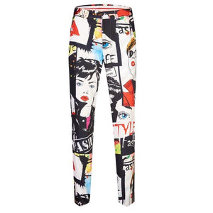 "The ""Art Basel"" Slim Fit Suit Pants Trousers"