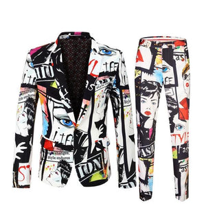 "The ""Art Basel"" Slim Fit Two-Piece Suit"