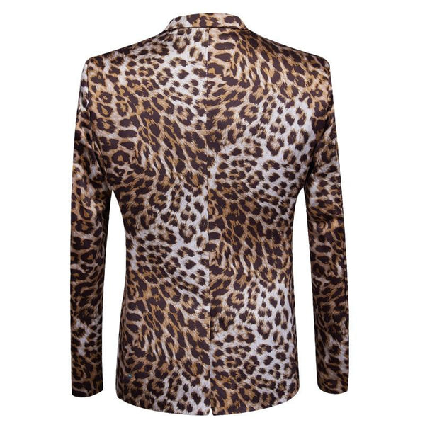 "The ""Leopard"" Slim Fit Two-Piece Suit William // David"