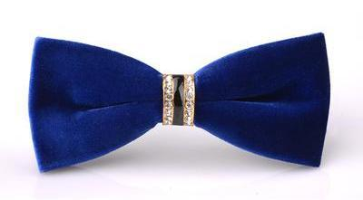 "The ""Dante"" Velvet Bow Tie - Multiple Colors william-david"