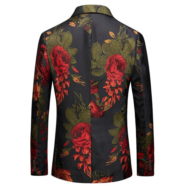 "The ""Dahlia"" Slim Fit Blazer Suit Jacket PYJTRL Official Store"