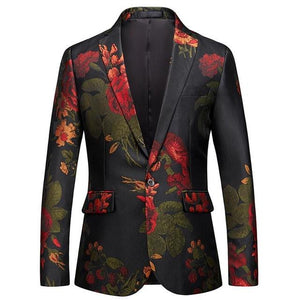 "The ""Dahlia"" Slim Fit Blazer Suit Jacket PYJTRL Official Store S"