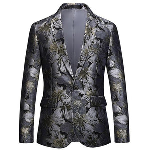 "The ""Havana"" Slim Fit Blazer Suit Jacket PYJTRL Official Store M"