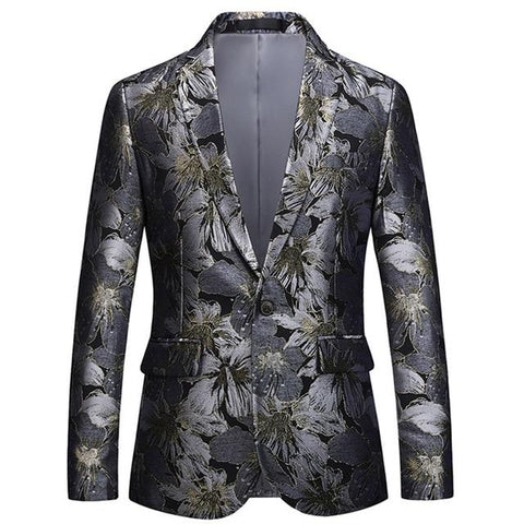 "The ""Havana"" Slim Fit Blazer Suit Jacket"