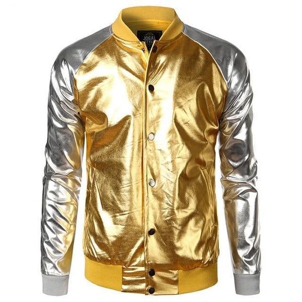 "The ""Giorgio"" High Gloss Bomber Jacket - Multiple Colors William // David"