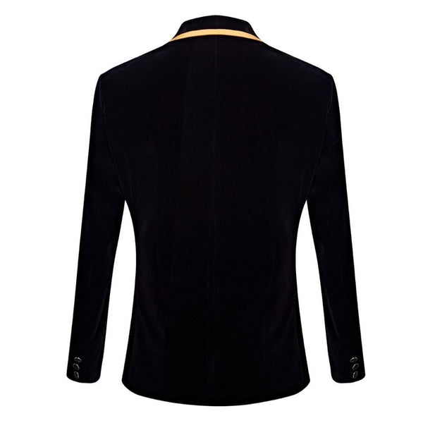 "The ""Venetian"" Velvet Slim Fit Jacket William // David"