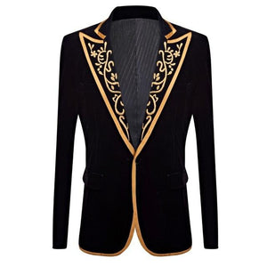"The ""Venetian"" Velvet Slim Fit Jacket William // David XS"