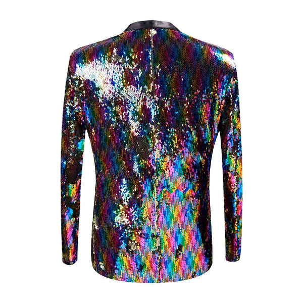 "The ""Pierre"" Sequin Slim Fit Blazer Suit Jacket William // David"