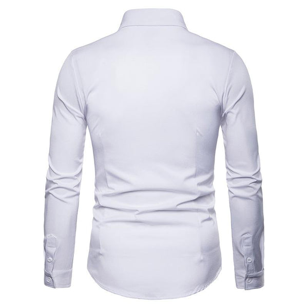 "The ""Imperial"" Embroidered Long Sleeve Shirt - Multiple Colors"