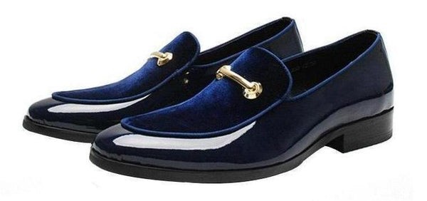 "The ""Carlo"" Patent Leather Penny Loafers - Multiple Colors PYJTRL Official Store"
