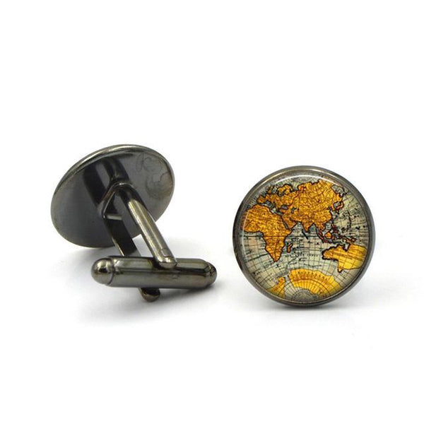"The ""Explorer"" Luxury Cuff Links - Multiple Colors"