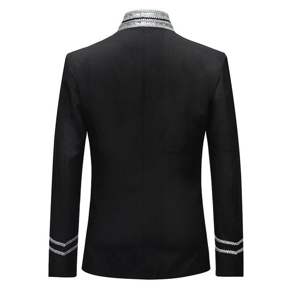 "The ""Centurion"" Mandarin Collar Jacket - Multiple Colors shenrun Official Store"