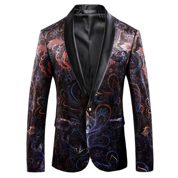 "The ""Aurora"" Slim Fit Blazer Suit Jacket PARKLEES Official Store L"