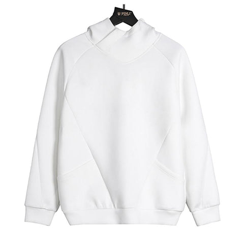 "The ""Sainte"" Hooded Sweatshirt - Pearl White William // David"