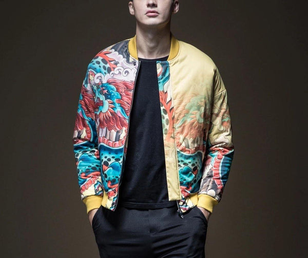 "The ""Doragon"" Bomber Jacket William // David"