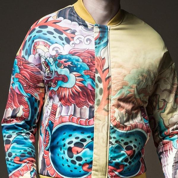 "The ""Doragon"" Bomber Jacket"