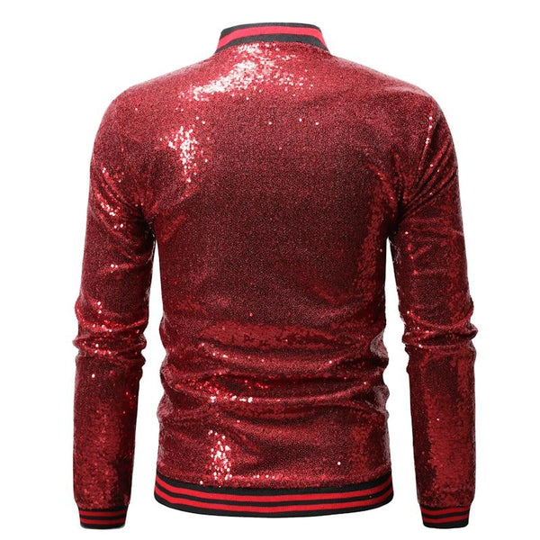 "The ""Crystal"" Slim Fit Bomber Jacket - Multiple Colors"