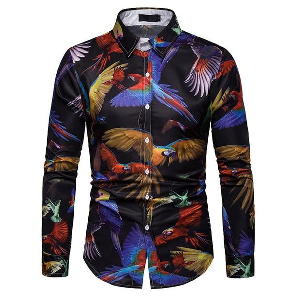 "The ""Bali"" Long Sleeve Shirt"