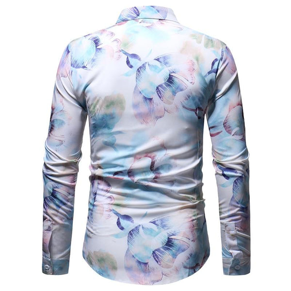 "The ""Aurora"" Long Sleeve Shirt William // David"