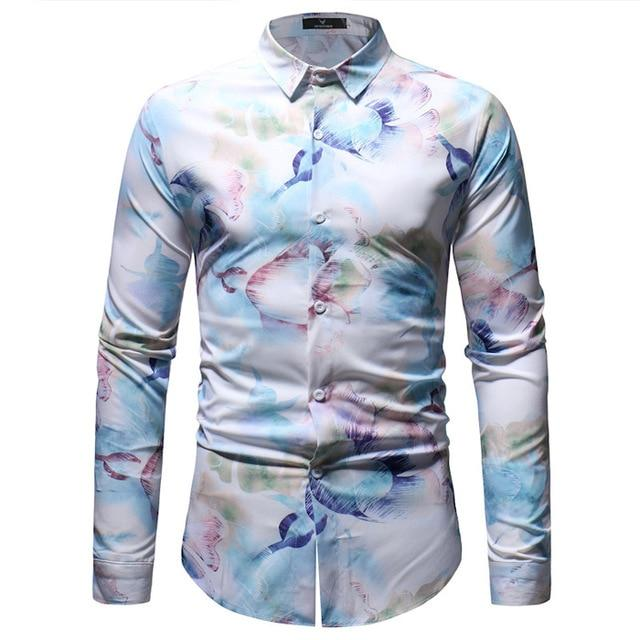 "The ""Aurora"" Long Sleeve Shirt William // David M"