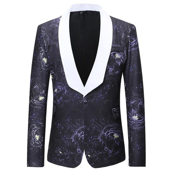 "The ""Interstellar"" Slim Fit Blazer Suit Jacket William // David M"