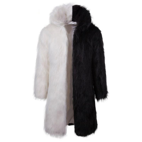 "The ""Napoleon"" Faux Fur Mink Jacket - Splice Milky Way Apparel Store"