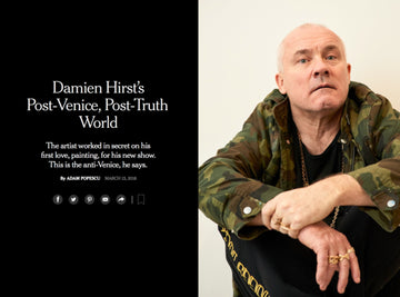 DAMIEN HIRST | THE NEW YORK TIMES