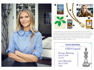 GWYNETH PALTROW | WALL STREET JOURNAL