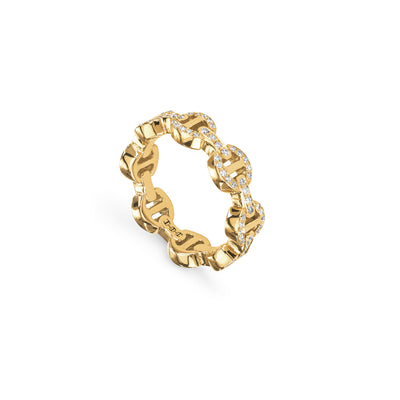 DAME TRI-LINK ANTIQUATED | 18K GOLD