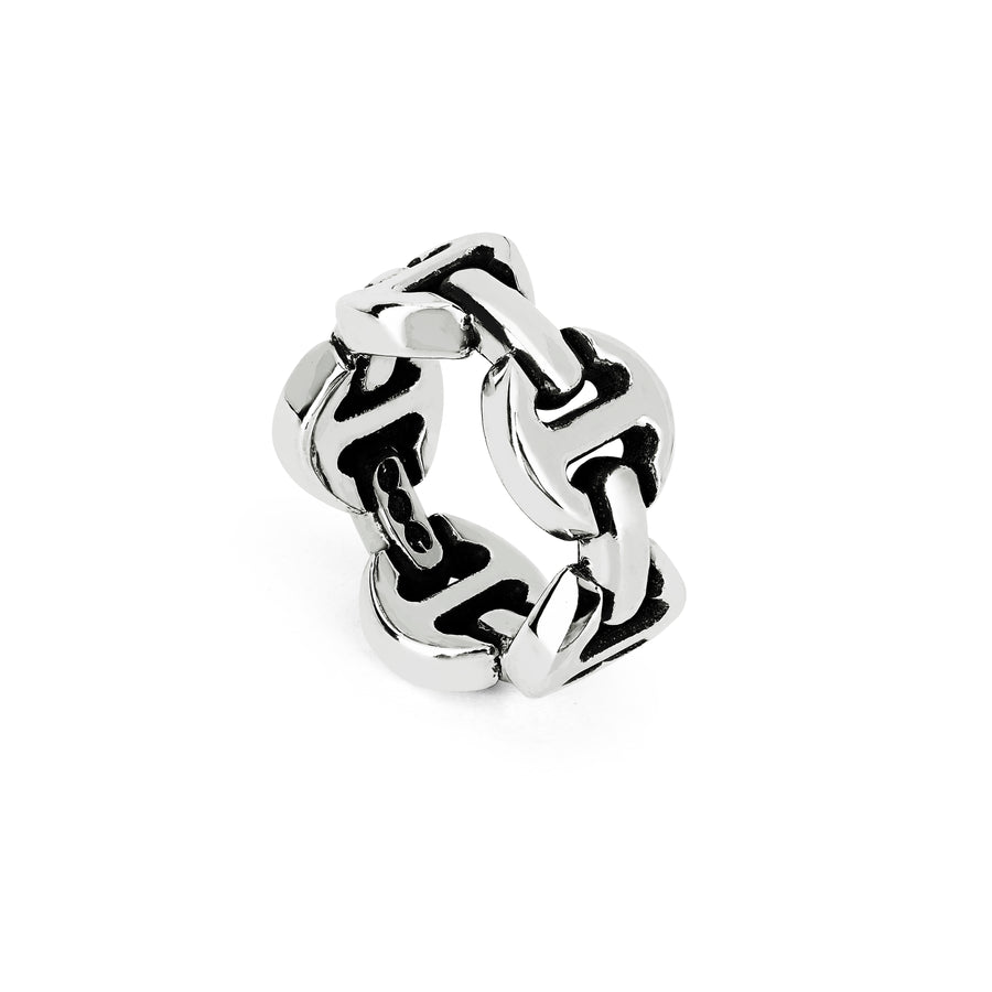 DAME CLASSIC TRI-LINK | STERLING SILVER