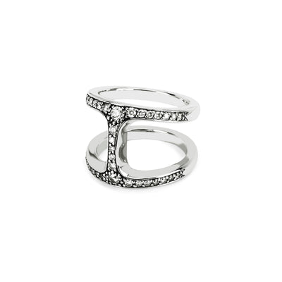 DAME PHANTOM WITH DIAMONDS | STERLING SILVER