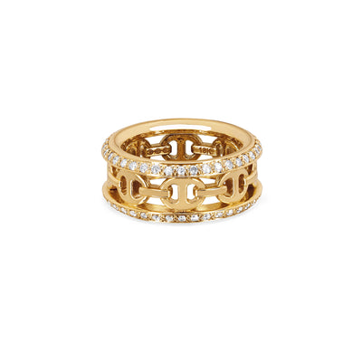 CHASSIS III WITH DIAMONDS | 18K GOLD