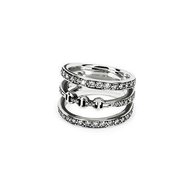 ASSET WITH DIAMONDS | STERLING SILVER