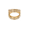 MASQUE WITH DIAMONDS | 18K GOLD