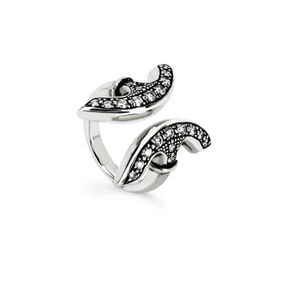 REVERE WITH DIAMONDS | STERLING SILVER