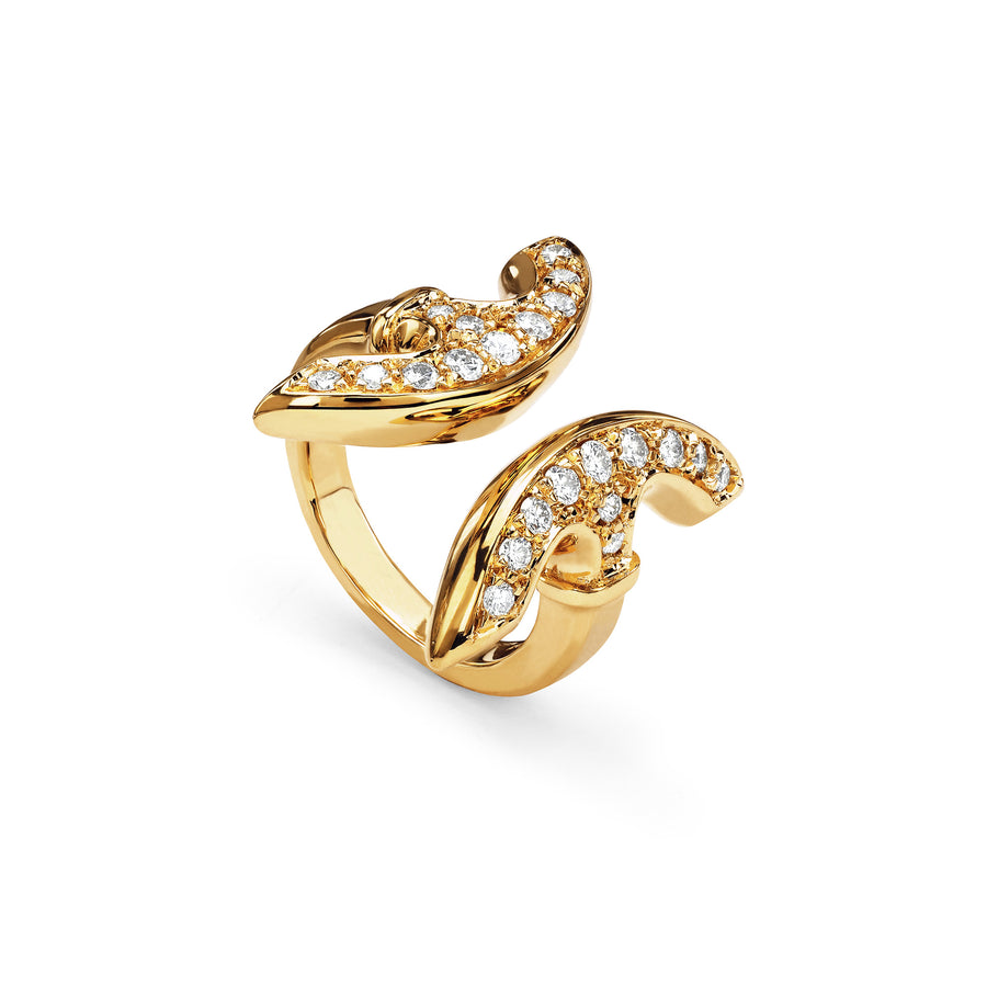 REVERE WITH DIAMONDS | 18K GOLD