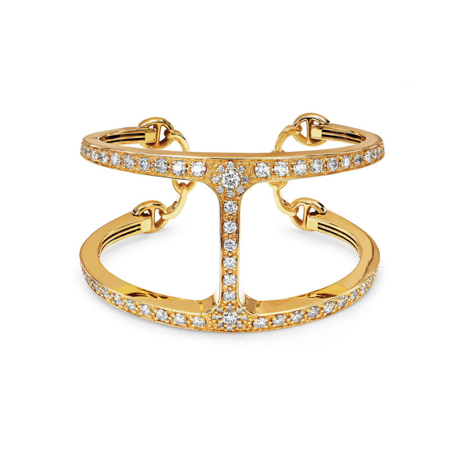 PHANTOM CUFF WITH DIAMONDS