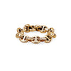 5MM OPEN-LINK™ RING WITH DIAMONDS | 18K GOLD