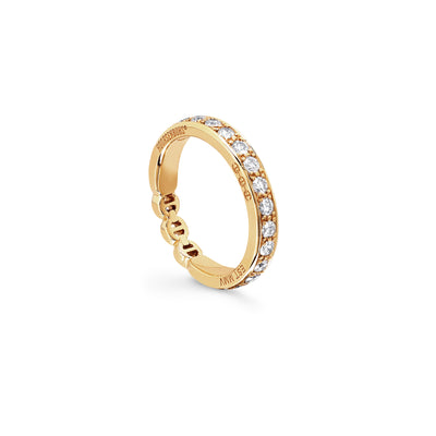 AMERICANA WITH DIAMONDS | 18K GOLD