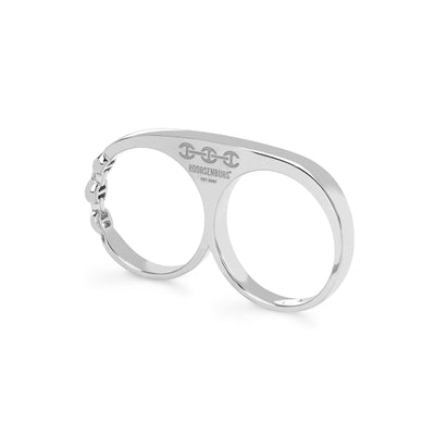 DOUBLE KNUCKLE | STERLING SILVER